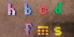 Lego Seven Letter