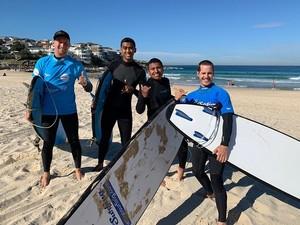 Let's Go Surfing on Bondi সৈকত Greater Sydney NSW