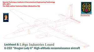 Lockheed Liège Industries Lourd U-222-S Dragon Lady II