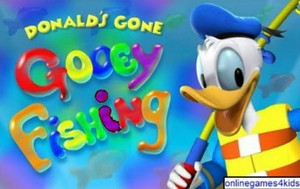 Mïckey mouse Clubhouse Donald's Gone Gooey Fïshïng Game