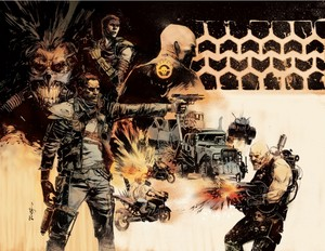 Mad Max Fury Road inspired art