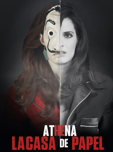 Maria as Athena in La Casa de Papel :p
