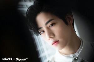 "Mark ""DYE"" mini album promotion photoshoot by Naver x Dispatch"