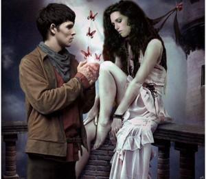 Merlin and Morgana 🖤
