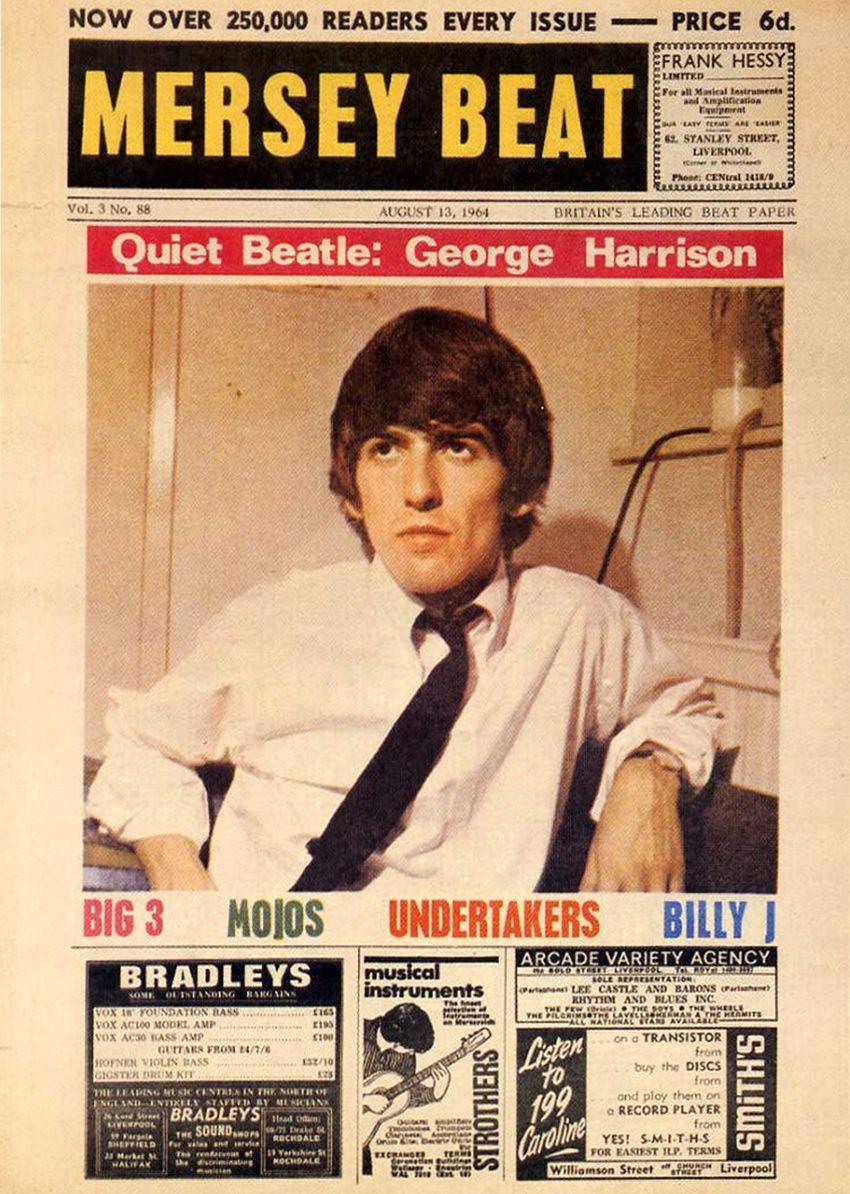 Mersey Beat Magazine/ George 🌻 - Les Beatles photo (43319671) - fanpop