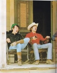 Micky Dolenz and Mike Nesmith