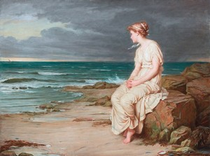 Miranda by John William Waterhouse (1875)