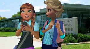 Modern day Anna and Elsa #4