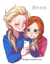 Modern hari Anna and Elsa #5