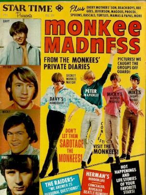 Monkees magazine ✨