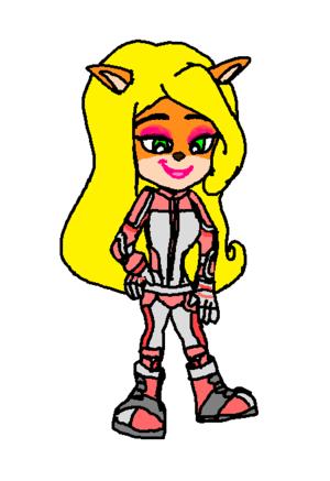 Motorsport Coco Bandicoot pink Style