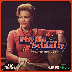 Mrs. America - Cast Promos - Cate Blanchett as Phyllis Schlafly