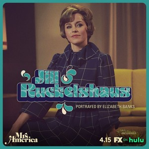 Mrs. America - Cast Promos - Elizabeth Banks as Jill Ruckelshaus