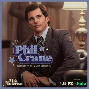Mrs. America - Cast Promos - James Marsden as Phil grua, grúa