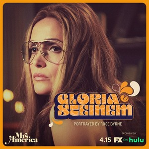 Mrs. America - Cast Promos - Rose Byrne as Gloria Steinem