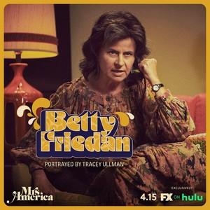 Mrs. America - Cast Promos - Tracey Ullman as Betty Friedan