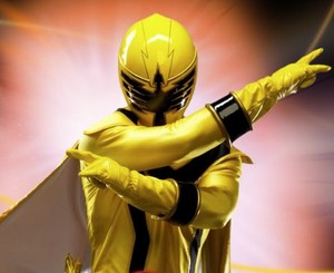 Mystic force yellow