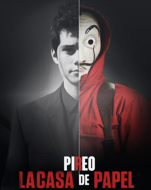 Nic as Pireo in La Casa de Papel :p
