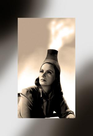 Nuclear Ninotchka ~ Greta Garbo