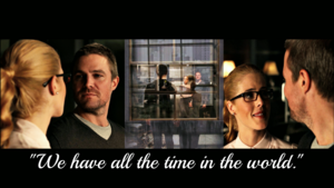 Oliver and Felicity fondo de pantalla