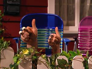 Oobi And Grampu Thumbs Up