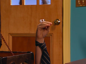 Oobi At Work Wearing A Tie