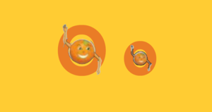 Oscar orange LetterLand