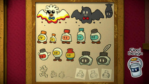 Paper Mario: Color Splash concept art 2