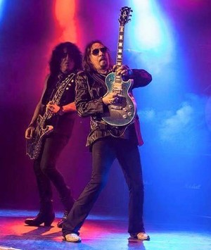 Paul Stanley and Ace Frehley - moto and Water ~ April 7, 2016 (Ace Frehley Origins Vol. 1)