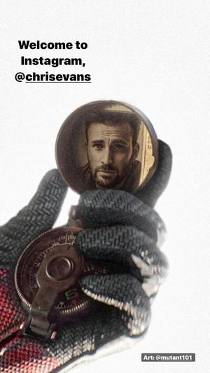 Ryan Reynolds welcomes Chris to Instagram Saturday May 2, 2020