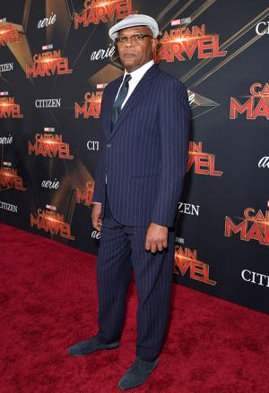 Samuel L. Jackson - Captain Marvel World Premiere March 4, 2019