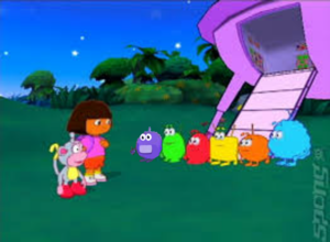 Screens Dora The Explorer: Journey To The Purple Planet