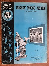 Sheet musik To Mickey mouse March