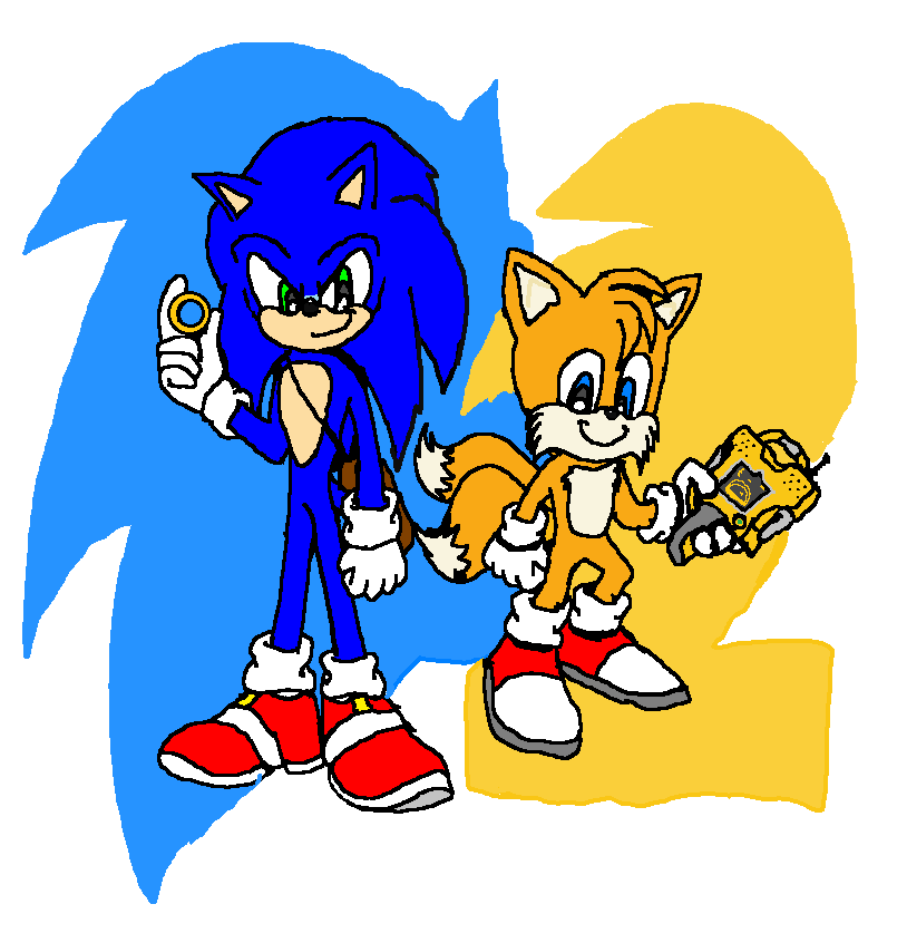 Sonic The Hedgehog 2 Movie Tails 2021 Sonic El Erizo Fan Art 43341316 Fanpop