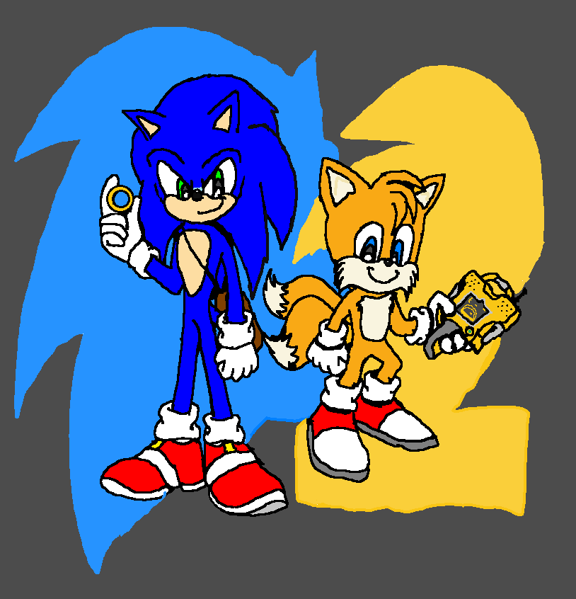 Sonic The Hedgehog 2 Movie Tails 2021 Sonic El Erizo Fan Art 43341328 Fanpop
