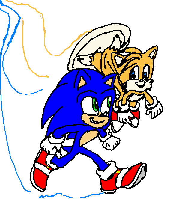 Sonic The Hedgehog 2 Movie Tails Best Friends Sonic The Hedgehog