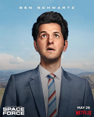 el espacio Force - Character Poster - Ben Schwartz as F. Tony Scarapiducci