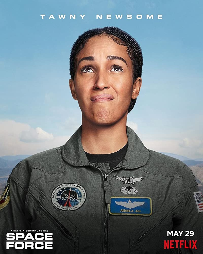 Space Force - Character Poster - Tawny Newsome as Angela Ali