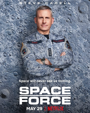 अंतरिक्ष Force - Season 1 Poster - Steve Carell as General Mark R. Naird