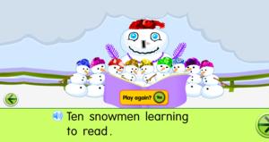 Starfall Ten Lïttle Snowman
