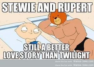 Stewie and Rupert