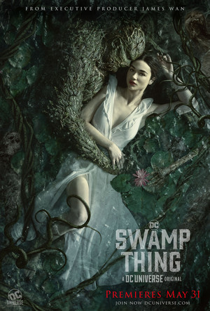 Swamp Thing Water Embrace Poster