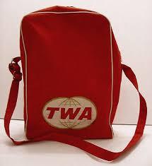 TWA Travel Bag