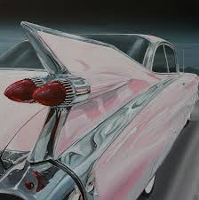 Tail End Of '59 Pink Cadillac