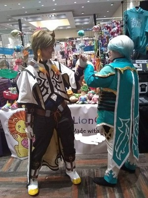 Tales of Zestiria Sorey and Mikleo Cosplay