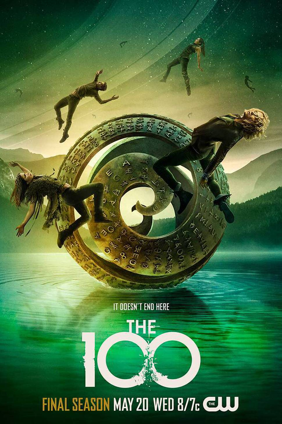 The 100 - Season 7 Poster - It Doesn't End Here