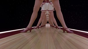 The Big Lebowski - Legs Scene