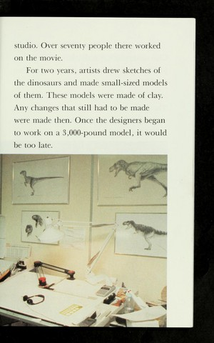 The डायनासोर of Jurassic Park (All Aboard पढ़ना Book)