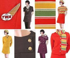 The Evolution Of TWA Flight Attendant Uniform