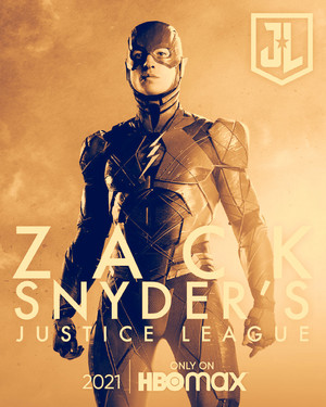 The Flash -Zack Snyder's Justice League Poster -HBO Max 2021